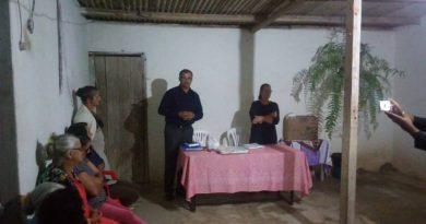Vereador Adinilson participa de reunião da Associação de Moradores do Povoado Cabeceira